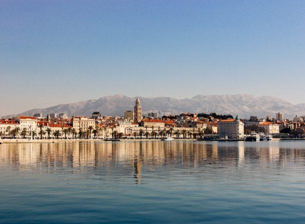 Landscape photography of Split, Croatia.