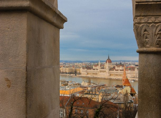 Landscape architecture photography in Budapest, Hungary.