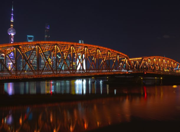 Long exposure HDR travel photography in Shanghai, China.