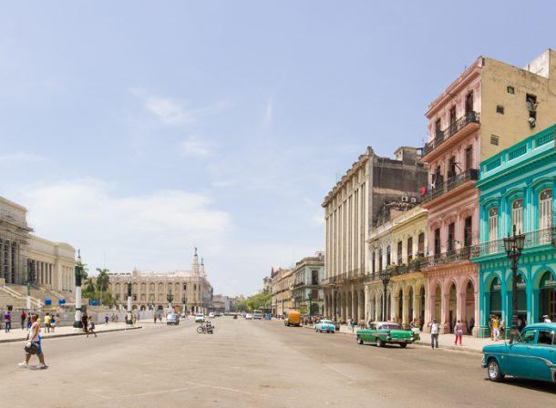 Cuban Panorama architecture photography.