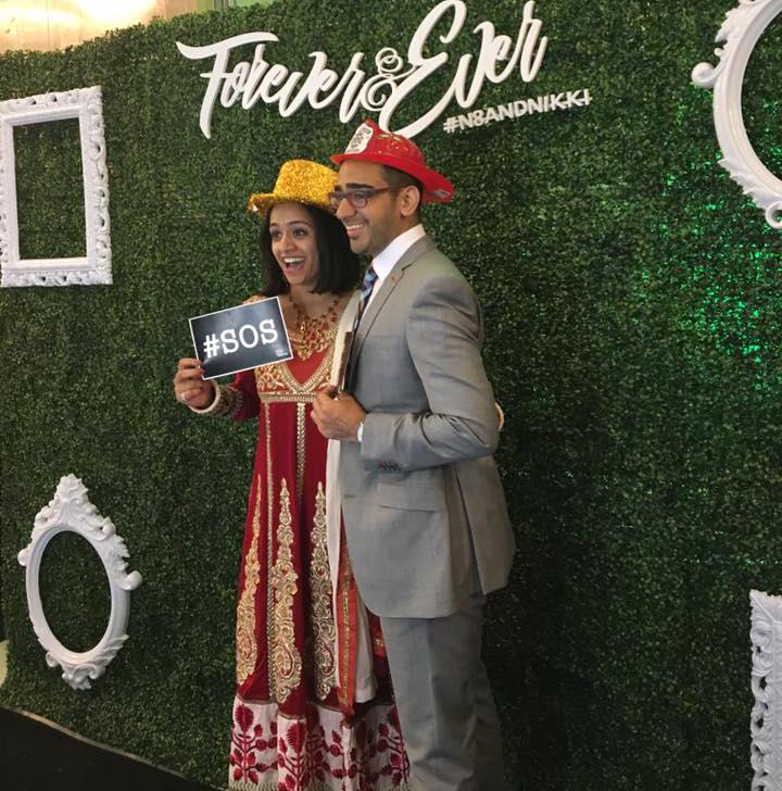 Gunjan & Prem Photo Booth